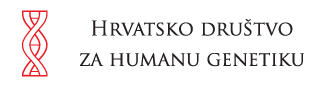 Hrvatsko društvo za humanu genetiku Logo